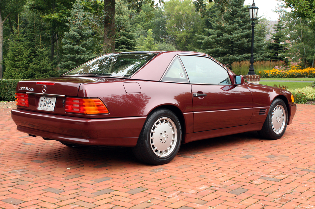Click image to enlarge and to scroll through all photos 1991 mercedes benz 300sl 24