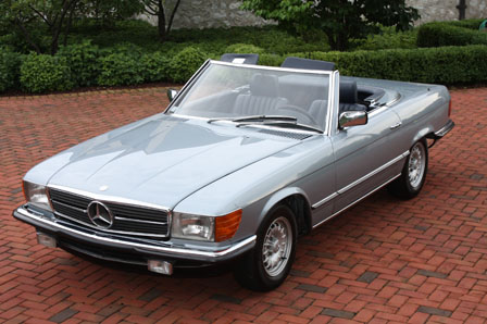 1984 mercedes 280sl