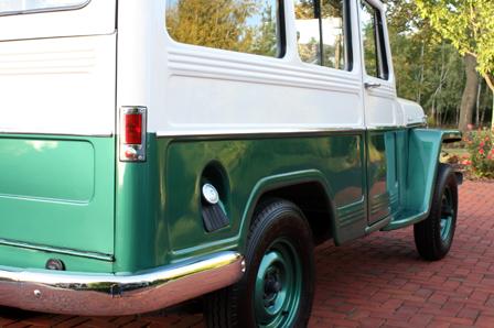 Memory Motors - 1956 WILLYS 4X4 Overland Wagon